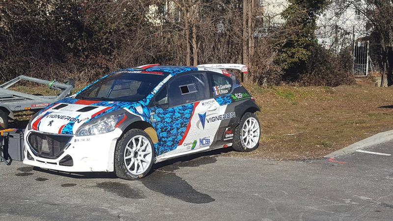 Peugeot 208 T16 - Quentin Giordano - Rallye Monte-Carlo 2017