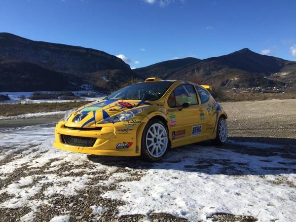Peugeot 207 S2000 - Damien Oberti - Rallye Monte-Carlo 2016