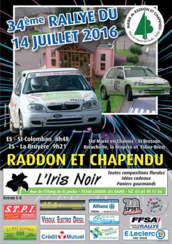 Affiche Rallye du 14 Juillet