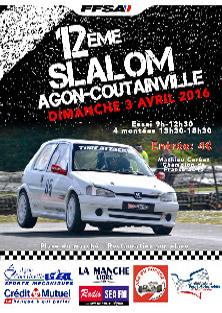 Affiche Slalom d'Agon-Coutainville 2016