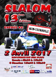 Affiche Slalom d'Agon-Coutainville 2017