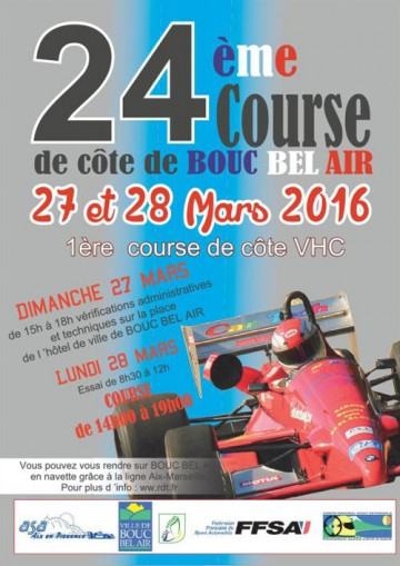 Course de Côte de Bouc-Bel-Air 2016