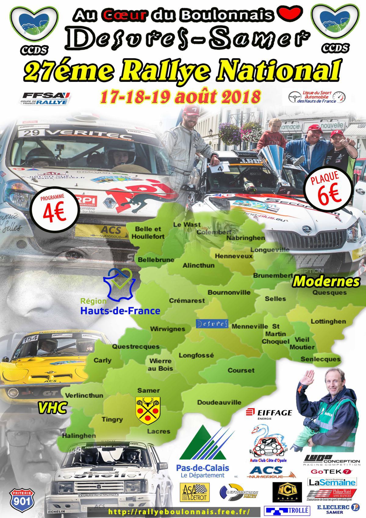 Rallye du Boulonnais 2018 (62) - RALLYGO.com