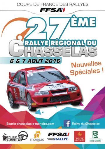 Affiche Rallye du Chasselas 2016
