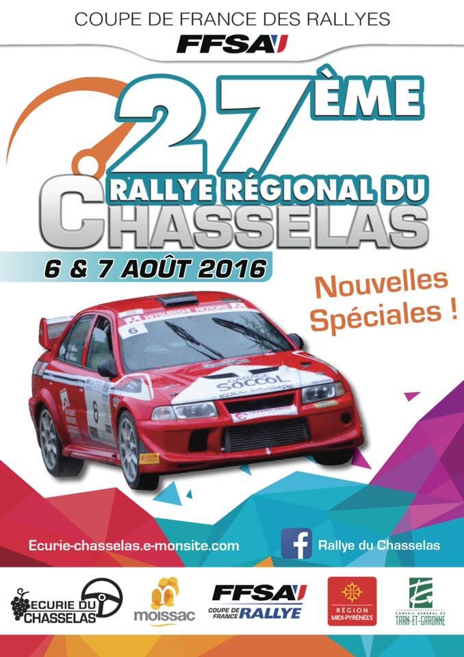 Rallye du chasselas 2018 82 - Calendrier coupe de france des rallyes ...