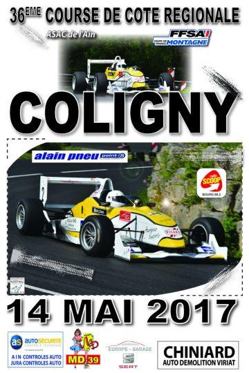 Course de Côte de Coligny 2017