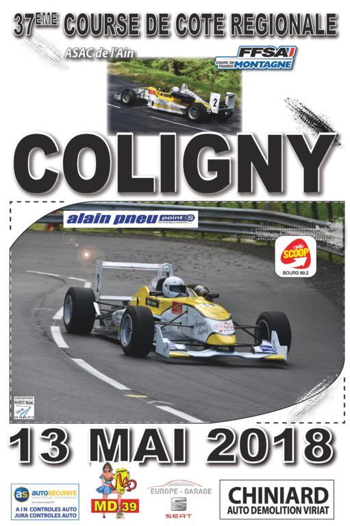 Calendrier Course De Cote 2021 Course de Côte de Coligny 2021 (01) | RALLYEGO.com