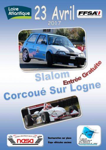 Affiche Slalom de Corcoué-sur-Logne 2017
