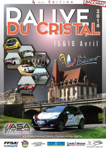 Affiche Rallye du Cristal 2016