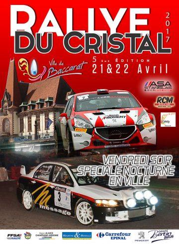Affiche Rallye du Cristal 2017