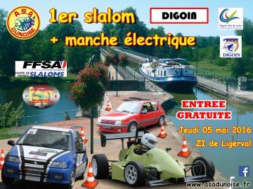 Affiche Slalom de Digoin 2016