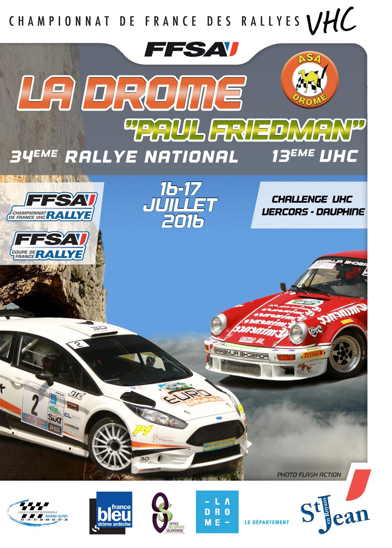 Rallye paul friedman 2018