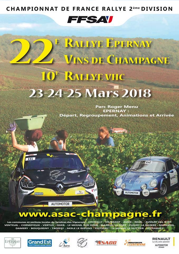 Rallye epernay 2018