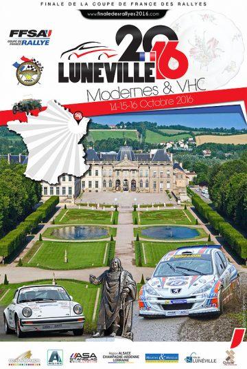 Affiche Finale Coupe de France des Rallyes 2016