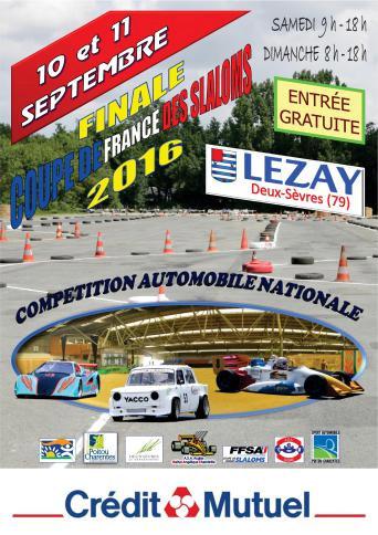 Affiche Finale Coupe de France des Slaloms 2016