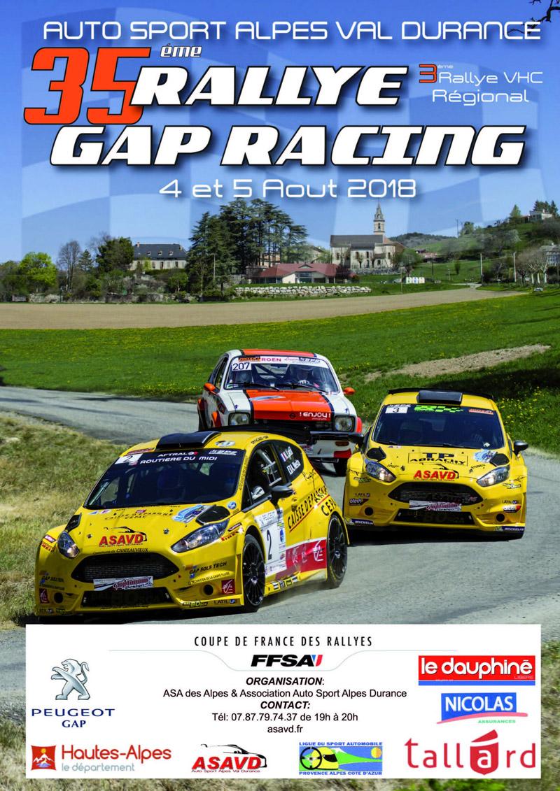 Rallye 5 aout 2018