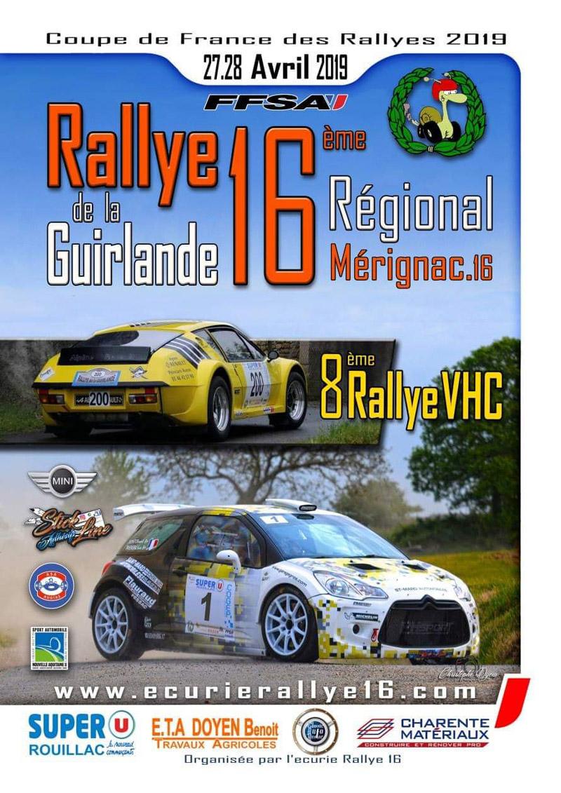 Calendrier Coupe De France Des Rallyes 2020.Rallye De La Guirlande 2020 16 Rallyego Com