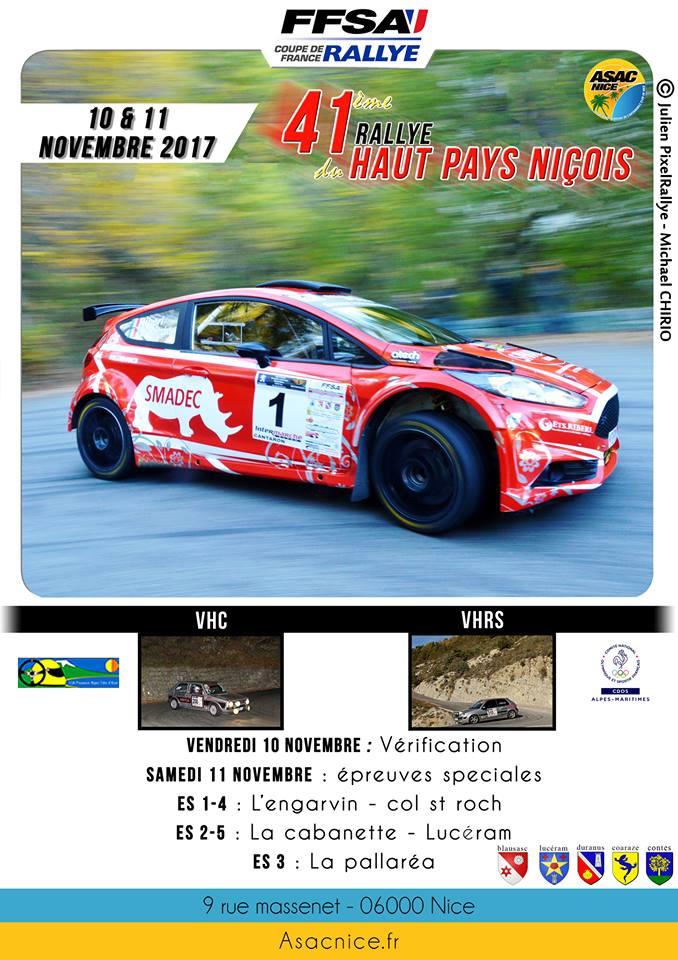 Rallye haut pays nicois 2018