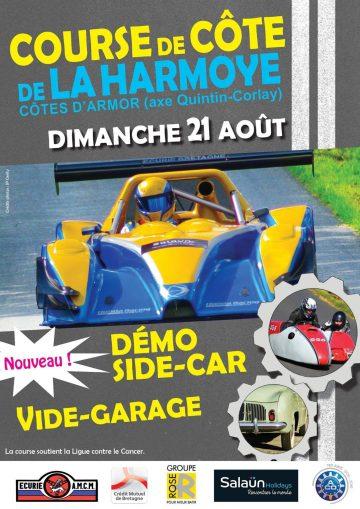 Affiche Course de Côte de La Harmoye 2016