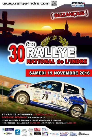 Rallye de l'Indre 2016
