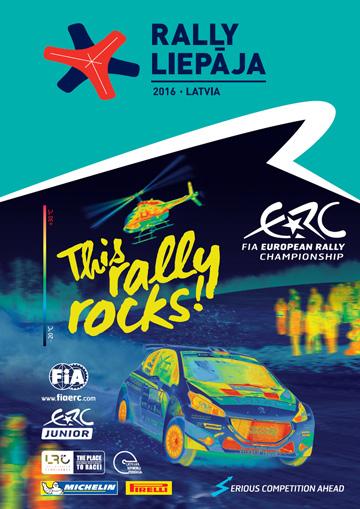 Affiche Rallye Liepāja 2016