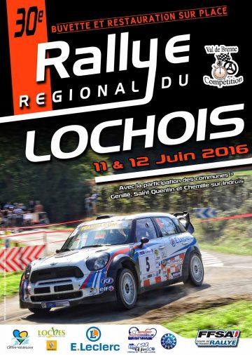 Affiche Rallye du Lochois 2016
