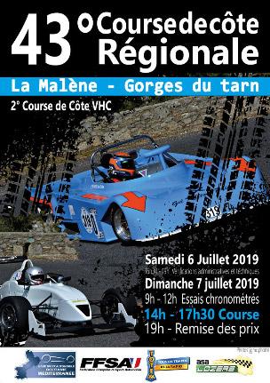 Course de Côte de La Malène 2019