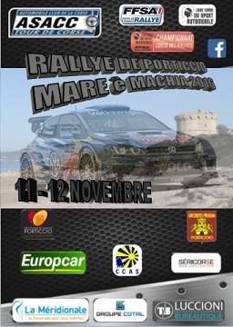 Affiche Rallye Mare è Machja 2016
