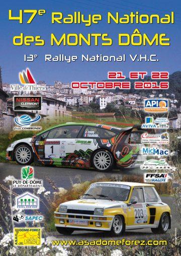 Rallye des Monts Dôme 2016