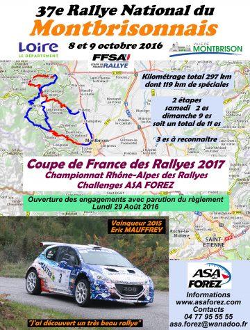 Rallye du Montbrisonnais 2016