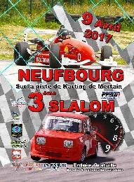 Affiche Slalom du Neufbourg 2017