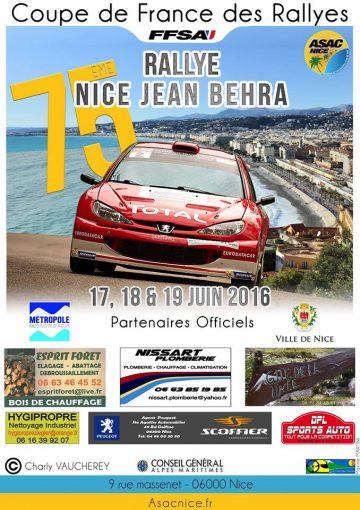 Rallye Nice - Jean Behra 2016