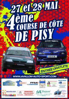 Affiche Course de Côte de Pisy 2017