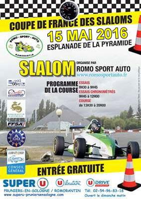 Affiche Slalom de Romorantin-Lanthenay 2016