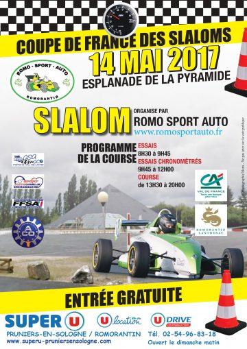 Affiche Slalom de Romorantin-Lanthenay 2017