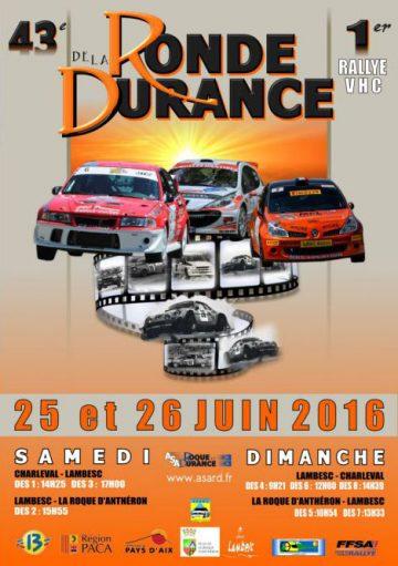Affiche Ronde de la Durance 2016