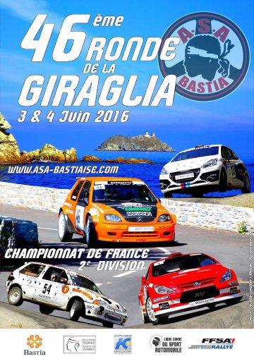 Affiche Ronde de la Giraglia 2016