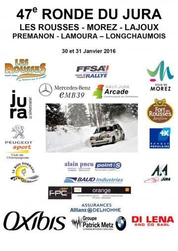 Affiche Ronde du Jura 2016