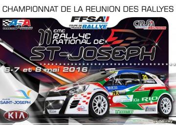 Affiche Rallye de Saint-Joseph 2016