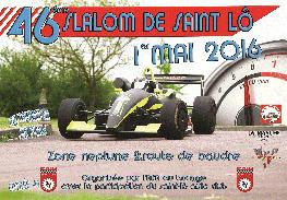 Affiche Slalom de Saint-Lô 2016
