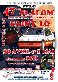 Affiche Slalom de Saint-Lô 2017
