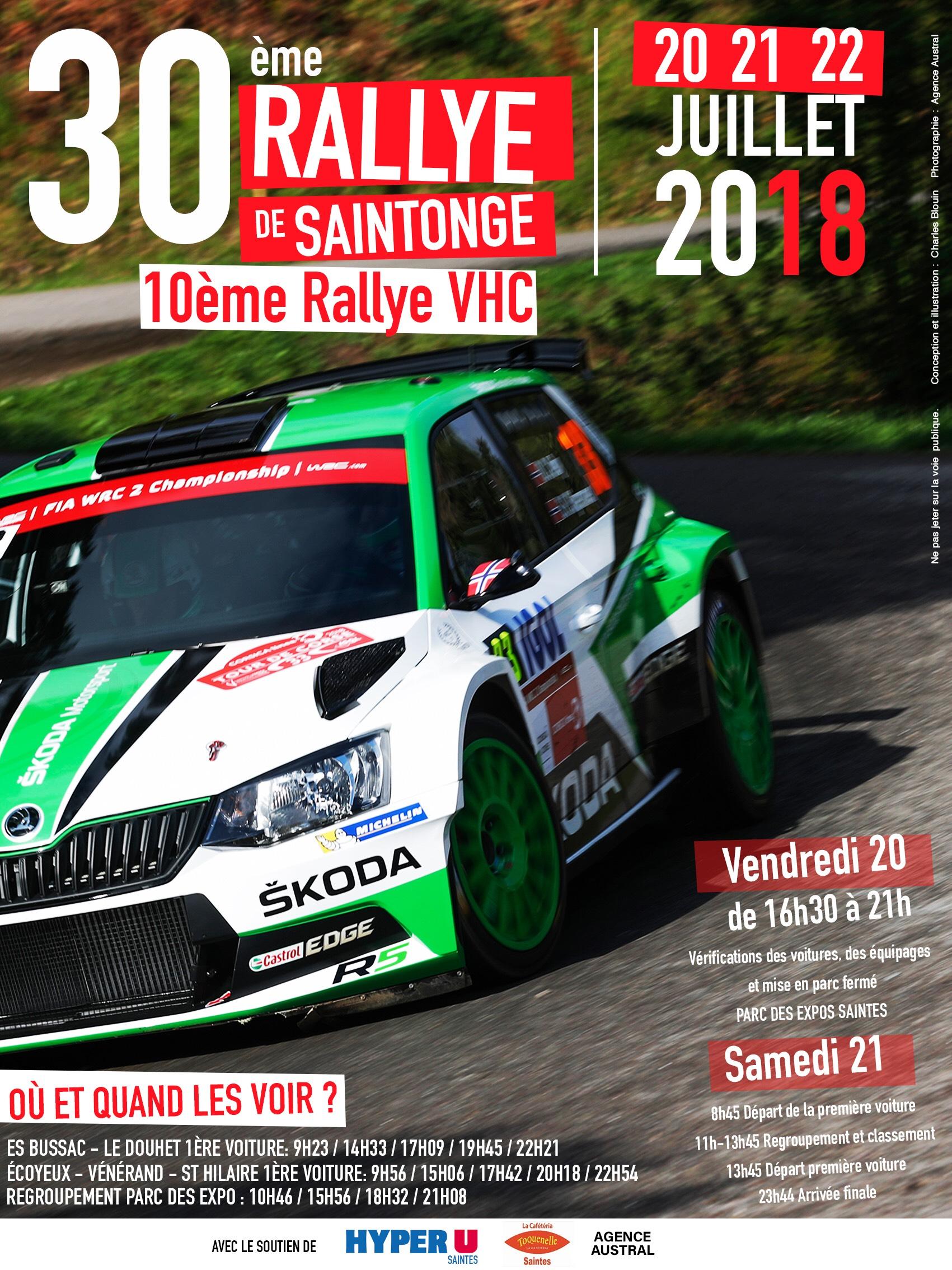 Rallye juillet 2018