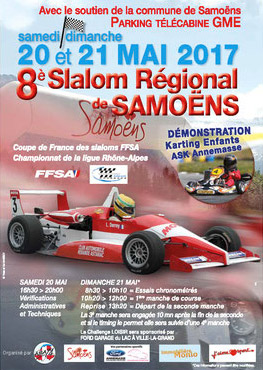Affiche Slalom de Samoëns 2017