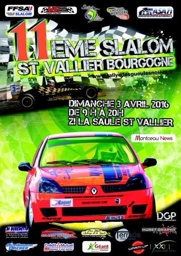 Affiche Slalom de Saint-Vallier 2016