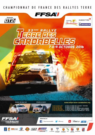 Rallye Terre des Cardabelles 2016