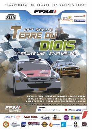 Affiche Rallye Terre du Diois 2016