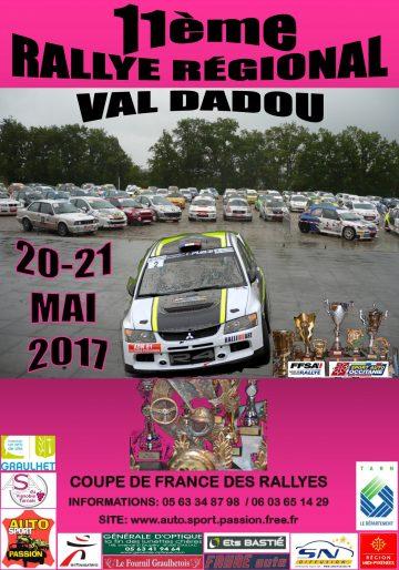 Rallye du Val Dadou 2017