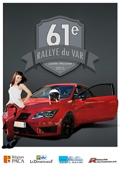 Affiche Rallye du Var 2015
