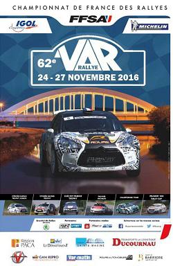 Affiche Rallye du Var 2016