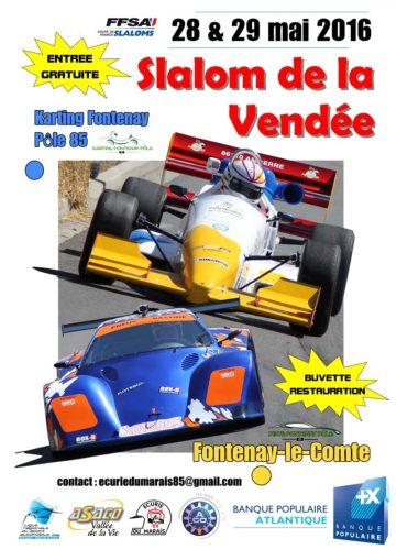 Affiche Slalom de la Vendée 2016